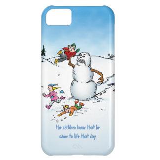 Killer Snowman Funny Cartoon iPhone 5c Case