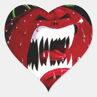 Killer Tomato Heart Sticker
