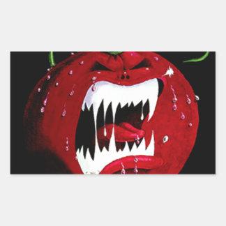 Killer Tomato Rectangular Sticker