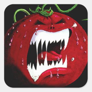 Killer Tomato Square Sticker