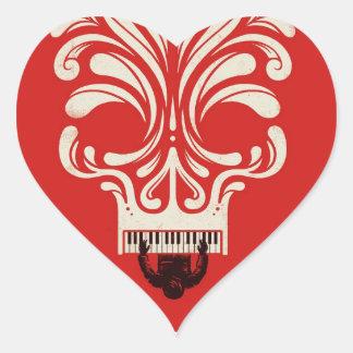 Killer Tune Heart Sticker