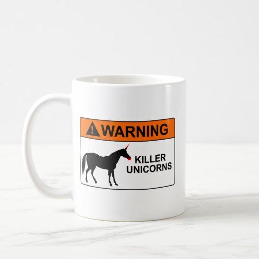 Killer Unicorns Coffee Mugs