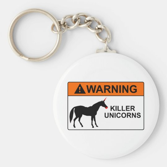 Killer Unicorns Keychain