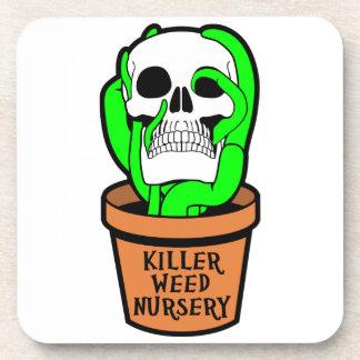 Killer Weed Nursery Drink Coaster
