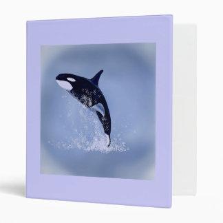 Killer Whale 3 Ring Binder