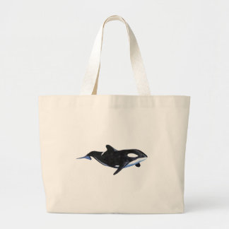 Killer Whale Tote Bags