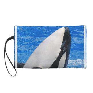 Killer Whale Wristlet Clutches