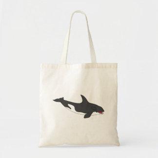 Killer Whale Canvas Bags