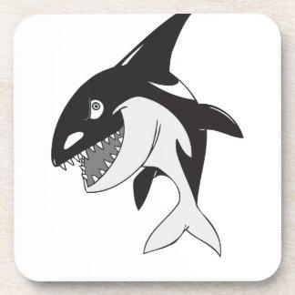Killer Whale Beverage Coaster