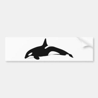 Killer Whale Bumper Sticker
