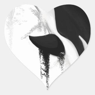 Killer Whale by Crem Heart Sticker
