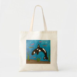 Killer Whale by Genevieve, Sandy and Gina Tote Bag