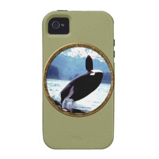 Killer Whale Case-Mate iPhone 4 Cover