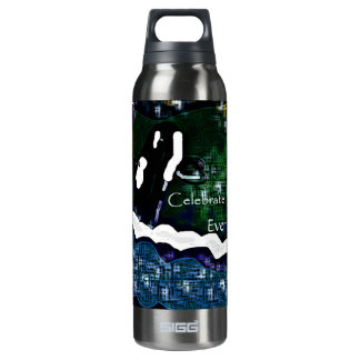 Killer Whale Celebrate Earth Day every day liberty Thermos Water Bottle