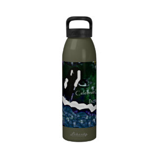 Killer Whale Celebrate Earth Day every day liberty Drinking Bottle