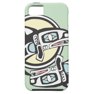 Killer Whale Circle iPhone 5 Cover
