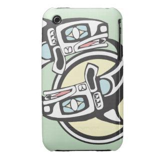 Killer Whale Circle Case-Mate iPhone 3 Case