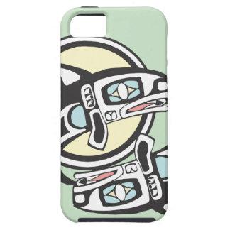 Killer Whale Circle iPhone SE/5/5s Case