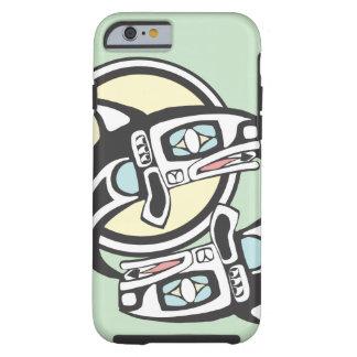 Killer Whale Circle iPhone 6 Case