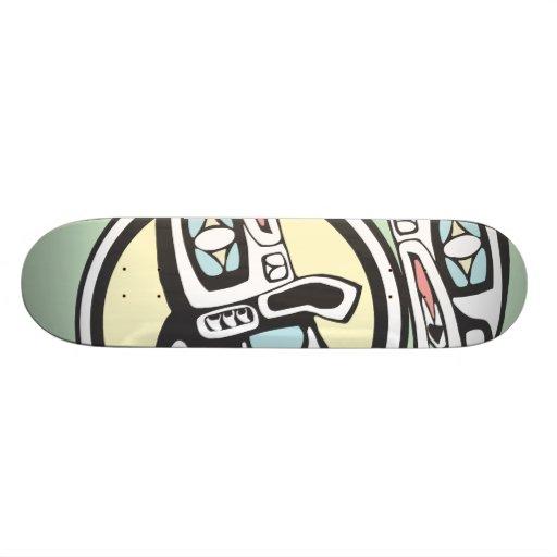 Killer Whale Circle Skateboard
