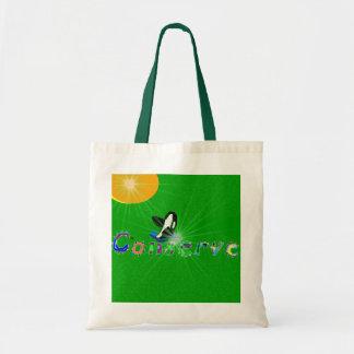 Killer whale conserve the earth bag