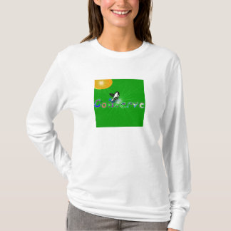 Killer whale Conserve the earth ladies long sleeve T-Shirt