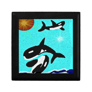 Killer Whale Dancing for life collectionA Jewelry Boxes