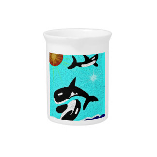 Killer Whale Dancing for life collectionA Drink Pitcher