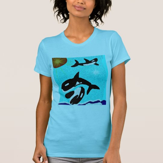 Killer Whale Dancing for life collectionA T-Shirt