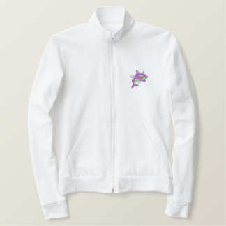 Killer Whale Embroidered Jacket