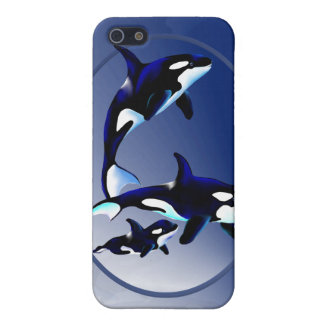 Killer Whale Family  iPhone SE/5/5s Case