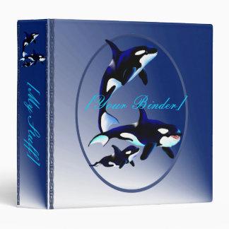 Killer Whale Family Oval binder_15_back.v4. Binder
