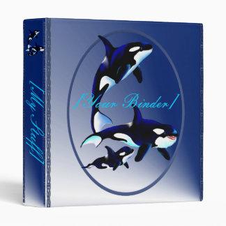 Killer Whale Family Oval binder_1_front.v4. Binder