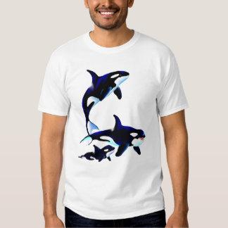 Killer Whale Family Shirts