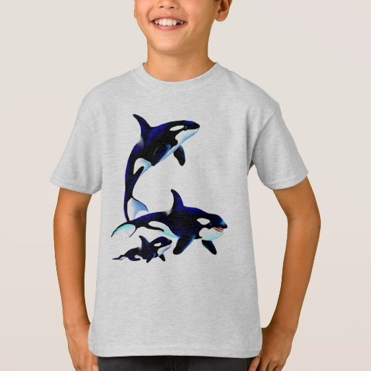 Killer Whale Family Shirts