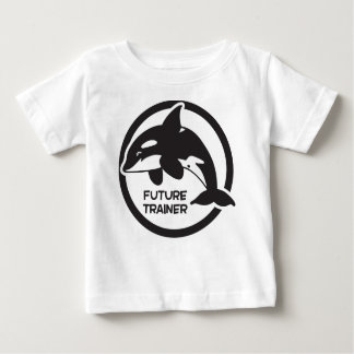 Killer whale future trainer baby T-Shirt