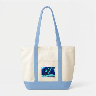 Killer Whale go blue for the ocean bag