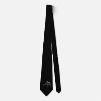 killer whale Halloween Neck Tie