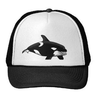 killer whale trucker hats