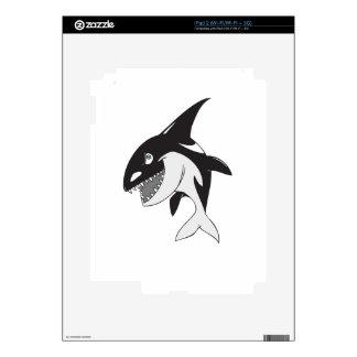 Killer Whale iPad 2 Decal