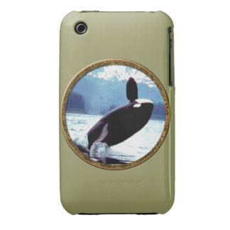Killer Whale iPhone 3 Cover