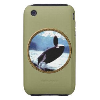 Killer Whale iPhone 3 Tough Cases