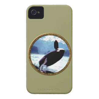 Killer Whale iPhone 4 Cases