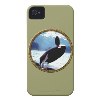 Killer Whale iPhone 4 Cover