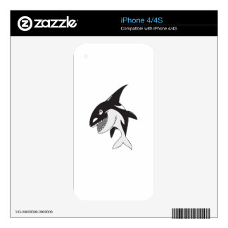 Killer Whale iPhone 4S Skins