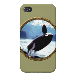 Killer Whale Cases For iPhone 4