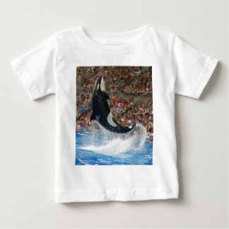 Killer whale jumping baby T-Shirt
