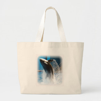 Killer Whale jumping Canvas Bag