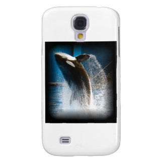 Killer Whale Jumping Samsung Galaxy S4 Covers