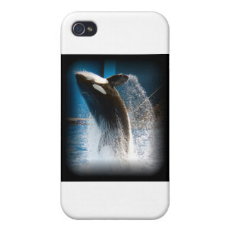 Killer Whale Jumping iPhone 4 Cover